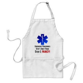 How EMTs Respond to Your Emergency Adult Apron