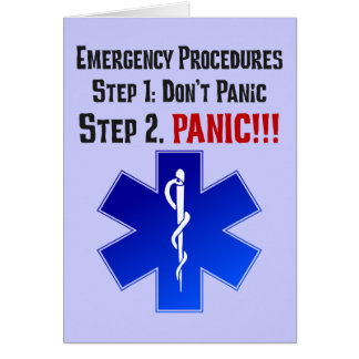 How EMTs Respond to Your Emergency Greeting Cards