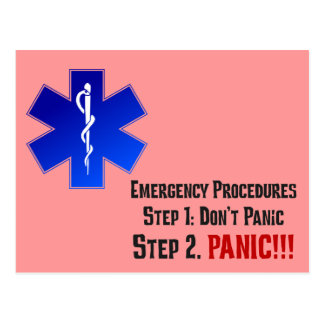 How EMTs Respond to Your Emergency Post Cards