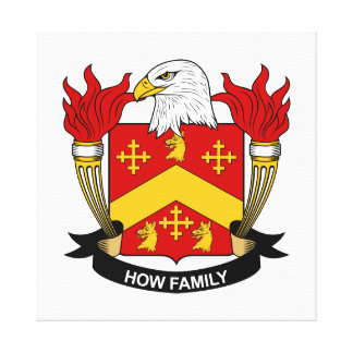 How Family Crest Gallery Wrap Canvas