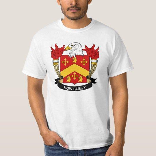 How Family Crest T-Shirt