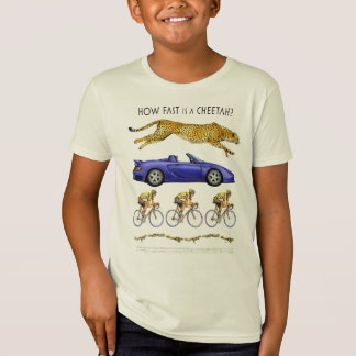How Fast is a Cheetah Organic Unisex T-Shirt