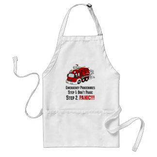 How Firefighters Respond to Your Emergency Adult Apron