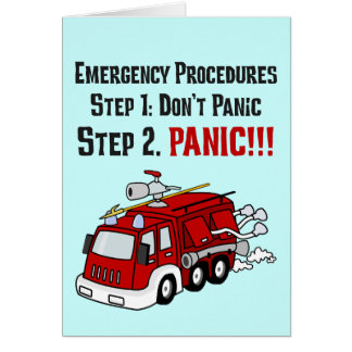 How Firefighters Respond to Your Emergency Cards