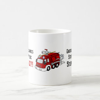 How Firefighters Respond to Your Emergency Coffee Mug