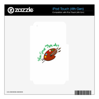 How Great Thou Art iPod Touch 4G Skin