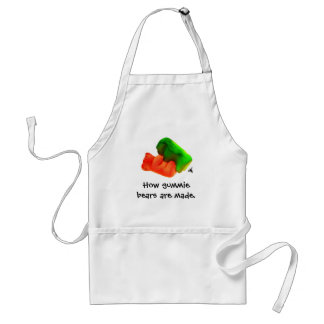 , How gummie bears are made. Adult Apron