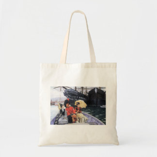 How happy I would be with both by James Tissot Tote Bag