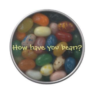 """""""How have you bean?"""" tin Candy Tin"""
