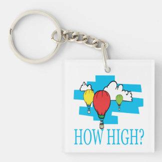 How High Keychain