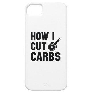 How I Cut Carbs iPhone SE/5/5s Case