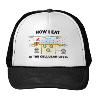 How I Eat At The Cellular Level (Endocytosis) Trucker Hat