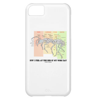 How I Feel At The End Of My Work Day (Worker Ant) Cover For iPhone 5C