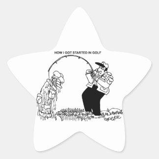 How I got started in golf! Sticker