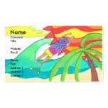 How I Lost My Flip Flops Business Card Template