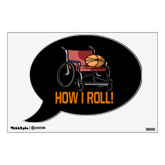 How I Roll 5 Wall Sticker