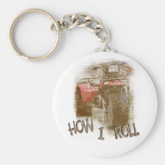 How I Roll - ATC Trike Three Wheeler Keychain