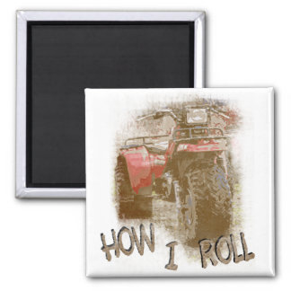 How I Roll - ATC Trike Three Wheeler Magnet