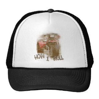 How I Roll - ATC Trike Three Wheeler Trucker Hat