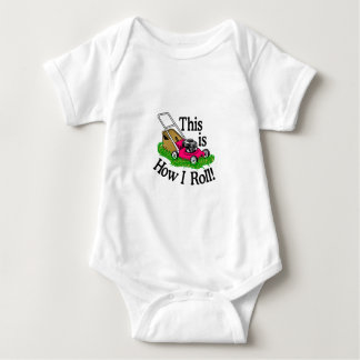 How I Roll Baby Bodysuit