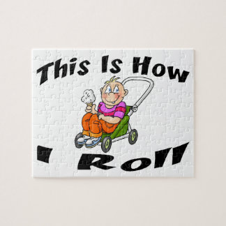 How I Roll Baby Stroller Jigsaw Puzzle