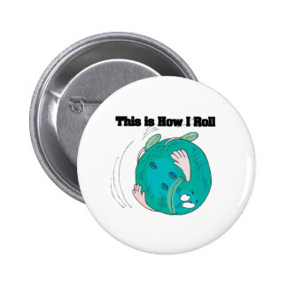 How I Roll (Bowling Ball) Button