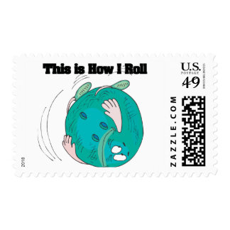 How I Roll (Bowling Ball) Postage