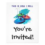 How I Roll (Bumper Cars) Invites