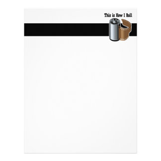 How I Roll Camera Film Personalized Letterhead