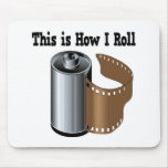 How I Roll Camera Film Mouse Pad