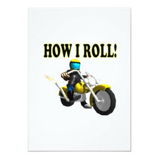 How I Roll Card