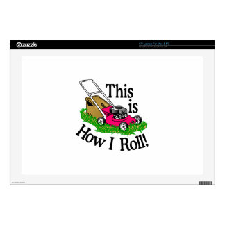 How I Roll Decals For Laptops