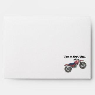 How I Roll (Dirt Bike) Envelope