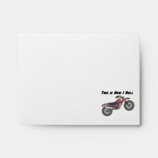How I Roll (Dirt Bike) Envelopes