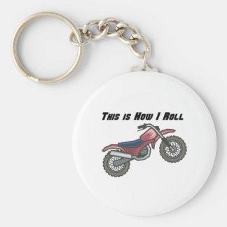 How I Roll (Dirt Bike) Keychains