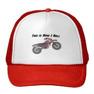 How I Roll (Dirt Bike) Mesh Hats