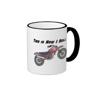 How I Roll (Dirt Bike) Ringer Mug