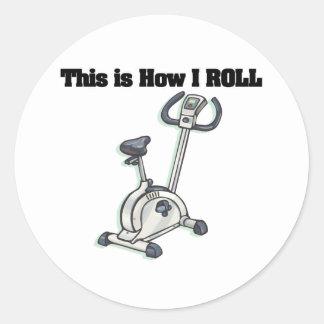 How I Roll (Exercise Bike) Sticker