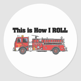How I Roll (Fire Engine/Truck) Sticker