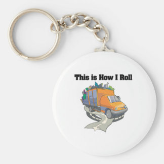 How I Roll (Garbage Truck) Keychain