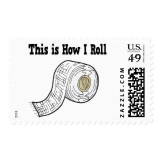 How I Roll Gauze Medical Tape Postage