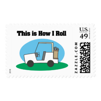 How I Roll (Golf Cart) Postage