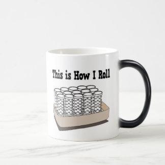 How I Roll Hair Curlers 11 Oz Magic Heat Color-Changing Coffee Mug
