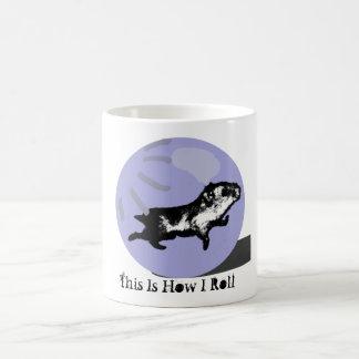 How I Roll - Hamster Ball Mugs