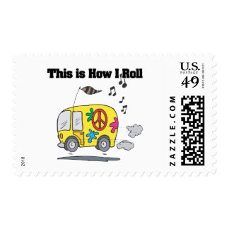 How I Roll (Hippie Van) Stamps