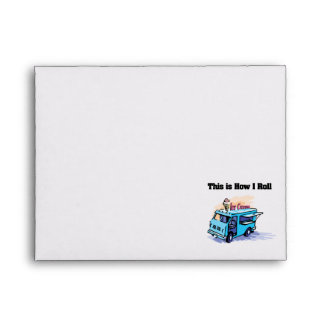 How I Roll (Ice Cream Truck) Envelope