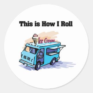 How I Roll (Ice Cream Truck) Sticker