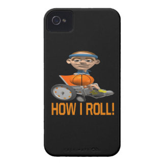 How I Roll iPhone 4 Case