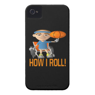 How I Roll iPhone 4 Cover