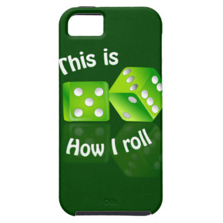 How I Roll iPhone 5 Case-Mate